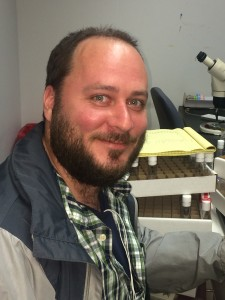 Matthew Eveland, fly geneticist